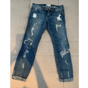 Current/Elliott size 27 Ripped Jeans
